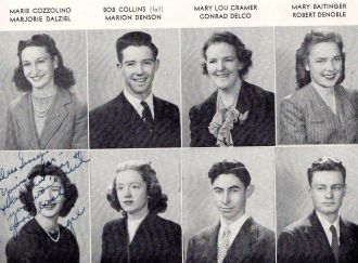Bob Collins and 1945 Seniors
