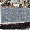 Domitilla (Aguilar) Kincaid gravesite, California