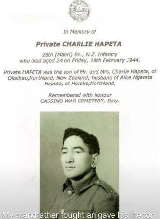 Charlie  Hapeta