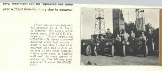 Arthur O. Lacey Early Advertisement