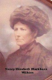Nancy Elizabeth (Blackburrn) Wilkins