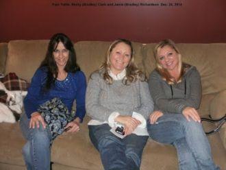 Pam, Becky and Jamie Bradley