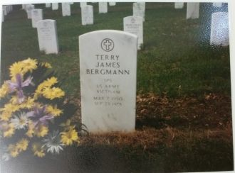 Terry J Bergmann gravesite