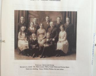 Harvey E Boisvert Family