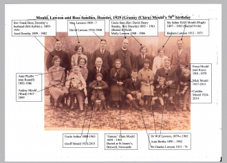 David Mould's family