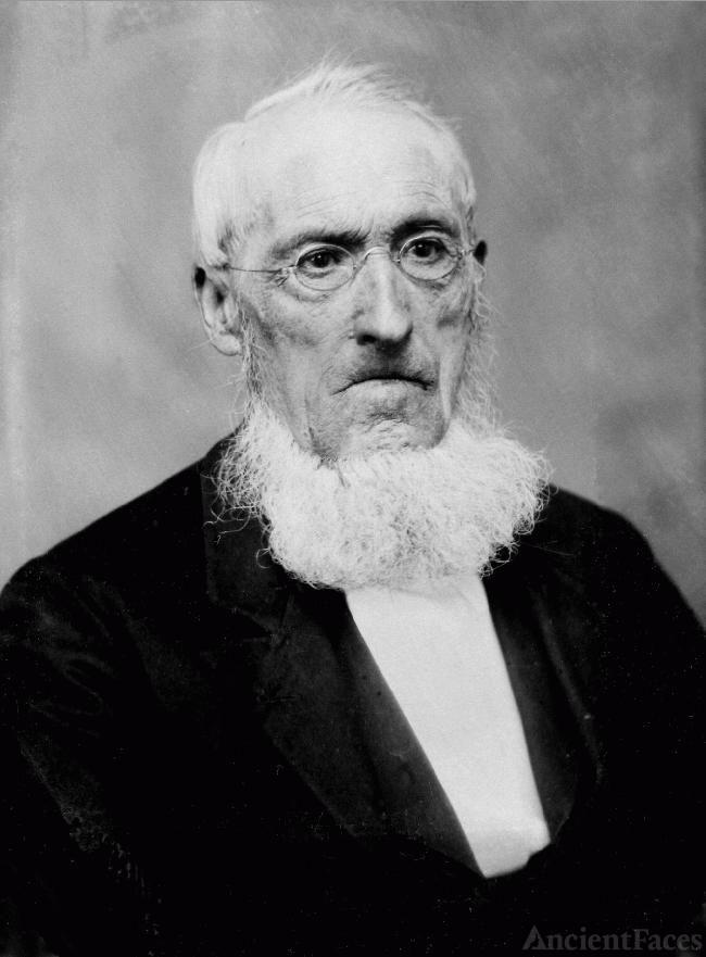 Dr James Lewis tintype