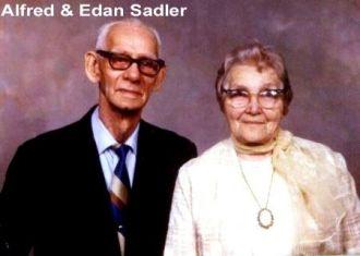 Grandpa & Grandma Sadler