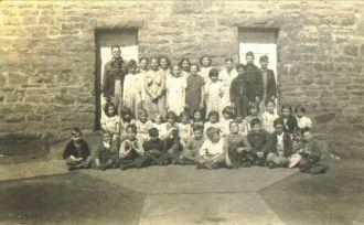 Stone Chapel School in Cherokee County OK