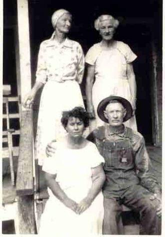 Garrett family 1960
