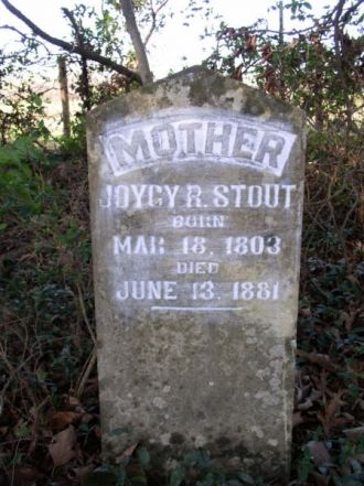 Stout, Joicy R.-Tombstone