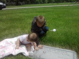 Clell Blair Pickett grave