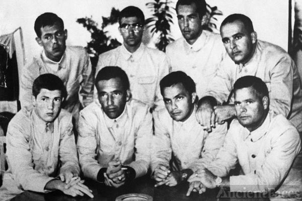 The Pueblo crew, 1968