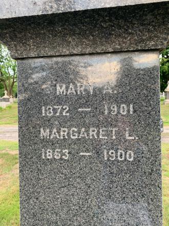 Margaret Lee Clancy-O'Hare--gravestone