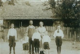 Celia Embry Walsworth and family