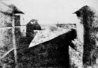 The first photo, ever