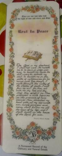 William Robert Wallace - Prayer