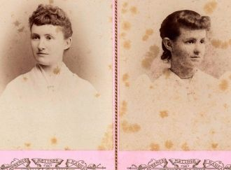 May Isabelle Hair - Belleville, Kansas 1891