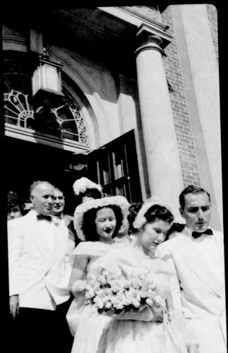 Margaret (Pesaturo) Santurri. Rhode Island 1940