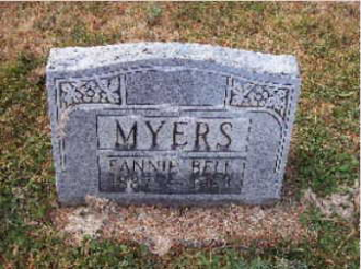 Fannie Bell (Brown) Myers