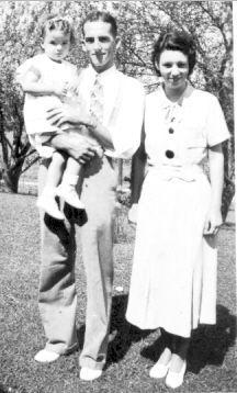 Floyd,Mary & Baby Carolyn
