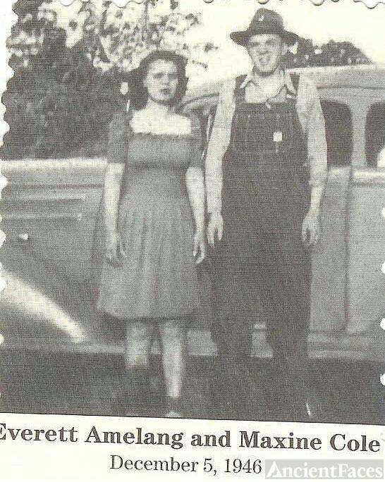 Maxine (Cole) and Fredrick Everett Amelang