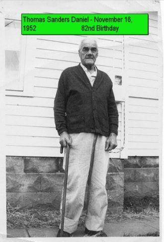 Thomas Sanders Daniel, 1952