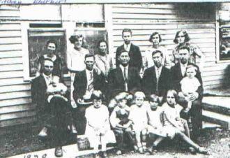 Eberhart siblings & Ritchey family