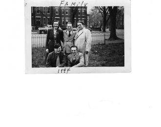 Williamson/Sanderson family