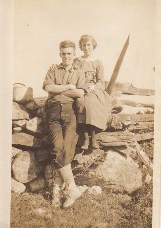 Laura Kemp and Harry Halsall