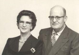 Gladys Opal Dickens & George William Bartlett