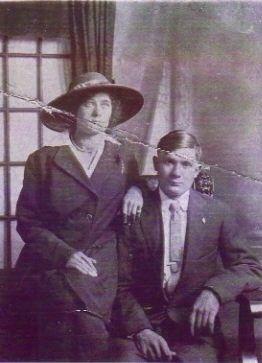 George Ross Kirkpatrick 1896-1935 and sister, Flora Belle Kirkpatrick 1895-1935
