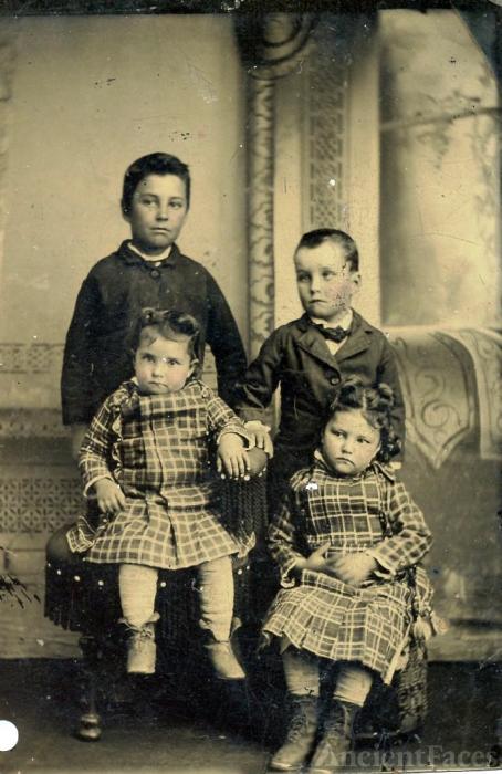 Murphy children in Quanah Texas