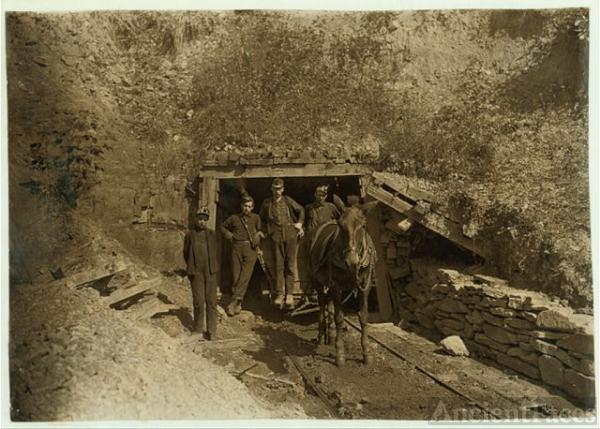 San Lick Mine, West Virginia