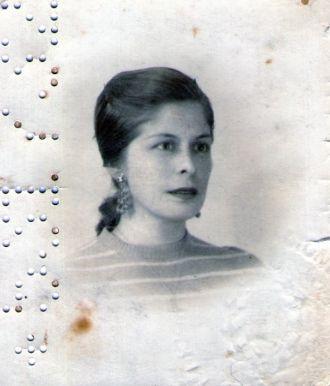 Leonor Albornoz, 1950