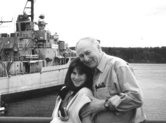 Frank Kroetsch & Granddaughter, Layne Marks-Jacobs