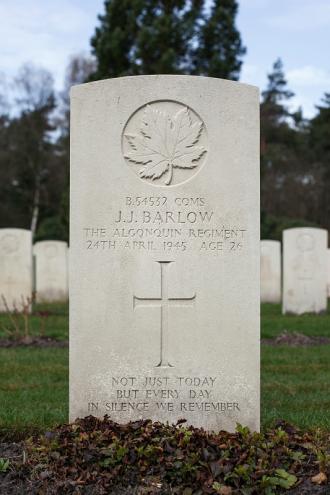 Joffre J. Barlow Gravesite