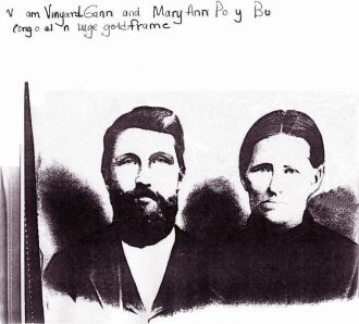 William Vinyard Gann/Mary Ann