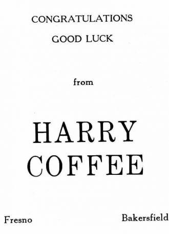 Harry Coffee