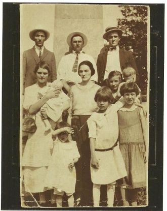 Vertrees & Cain Families, Kentucky 1926