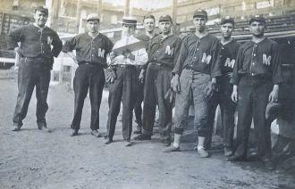 Baseball Team & Babe Ruth, New Jersey