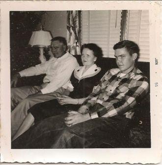 Bill, Lillie Mae  & John Schulz