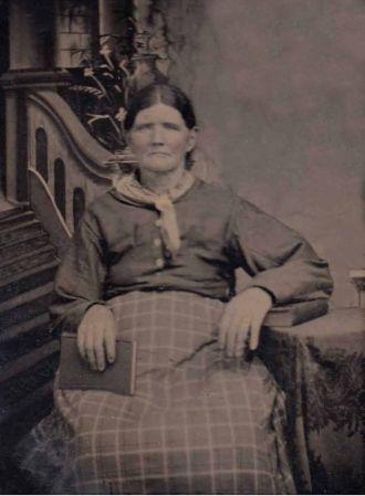 Unknown woman, Tintype 002