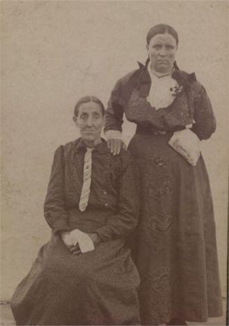 Lucinda and Tishie