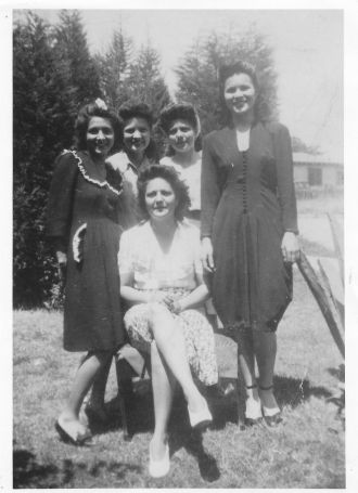The Gutierrez sisters in the 1940's