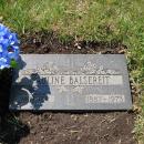 Pauline Balsereit Gravesite