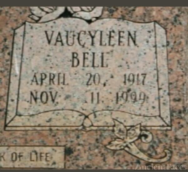 Vaucyleen  Bell Duke Gravesite
