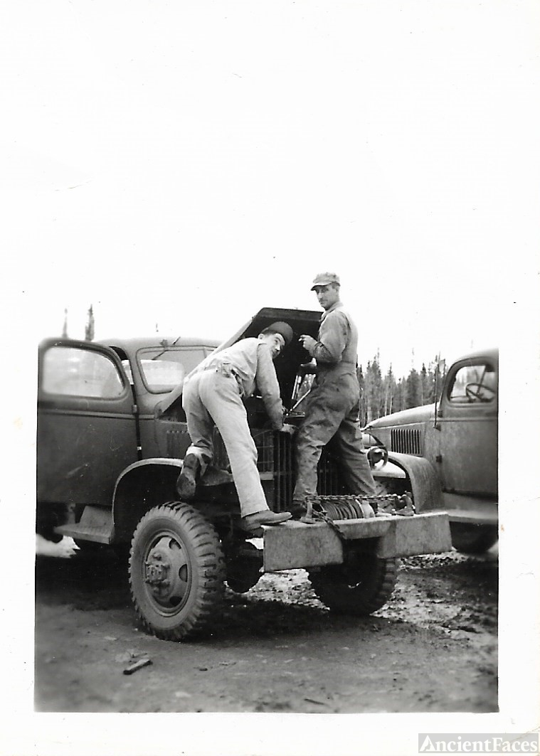 Rush during service WWII
