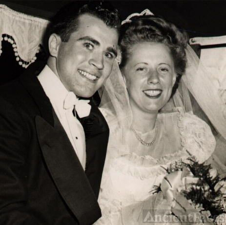 Eddie & Dolores' wedding 1947