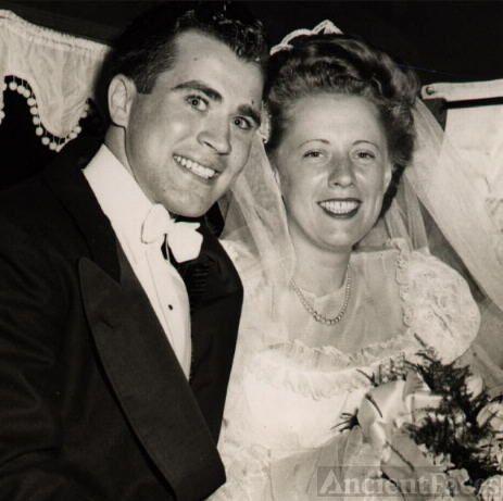 Eddie & Dolores' wedding 1947