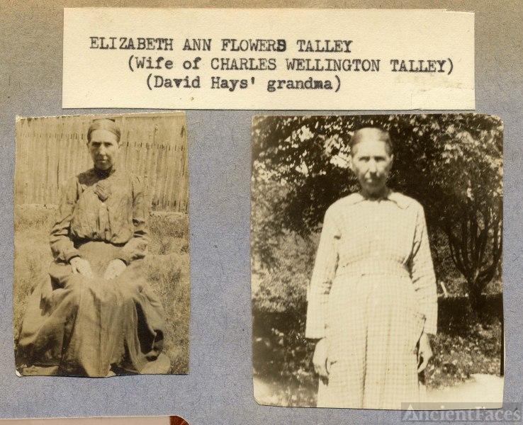 Elizabeth Ann Flowers Talley